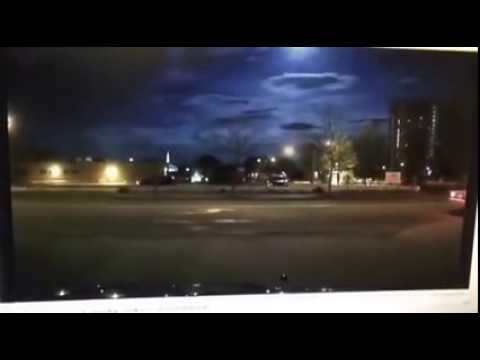 Portland Police Dashcam Captures Fireball Lighting Up Sky Over Maine