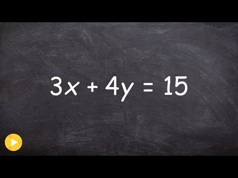 Solving An Equation For Y And X Using Two Steps
