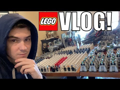 LEGO First Order Army Set-Up! Lot's Of LEGO Shopping!  | MandRproductions LEGO Vlog!