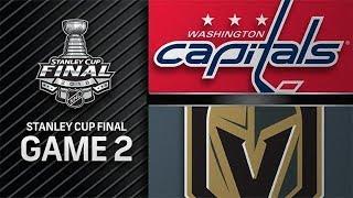 STANLEY CUP PLAYOFFS 2018 SCF G2: WASHINGTON CAPITALS VS VEGAS GOLDEN KNIGHTS