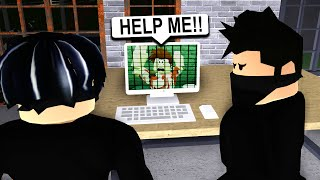 I Was CAPTURED on BLOXBURG.. Friends Had To Save Me! (Roblox)