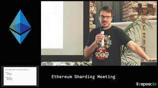 2. Spokes & Sharding by Nicolas Liochon (ConsenSys) - The Ethereum Sharding Meeting #2 - Berlin