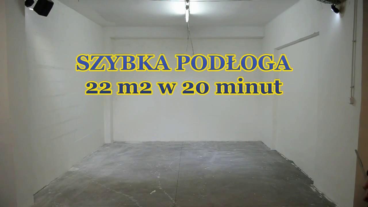 Szybka Podłoga W Garażu Płytki Fortelock Youtube