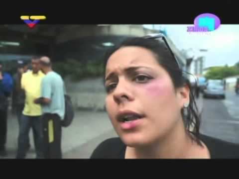 Joven golpeada en UCV cuenta sobre su agresión y la de William Muñoz