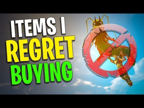 Items I Regret Buying in Fortnite