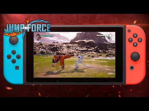 Jump Force - Nintendo Switch Release Date Trailer