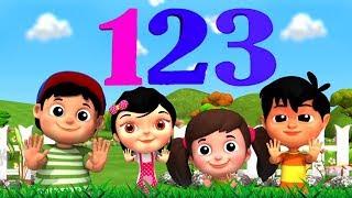 Bam Chiki Bam Bam | बम चिकी बम बम | Hindi Numbers 1-10 | Hindi Ginti Geet | Hindi Rhymes Nursery