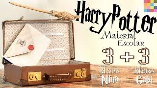 3 DIYs VOLTA ÀS AULAS : Harry Potter e Animais Fantásticos   ft. Gabi Grativol