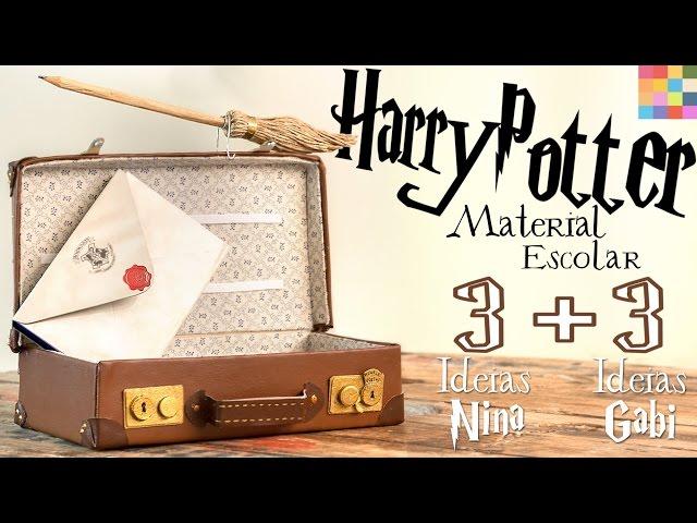3 DIYs VOLTA ÀS AULAS : Harry Potter e Animais Fantásticos | ft. Gabi Grativol