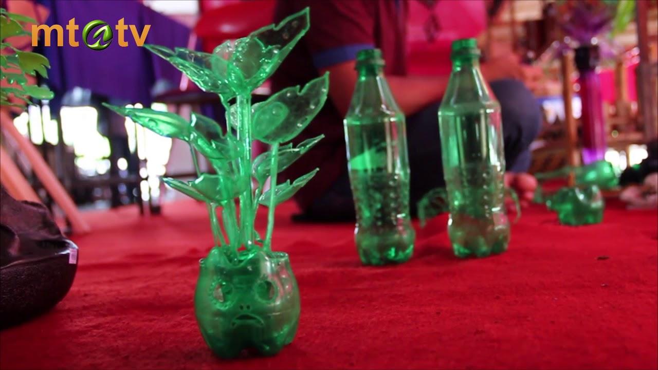 KIT - Hiasan Bunga dan Bonsai Berbahan Dasar Botol Plastik Bekas ... b5feb2eef7