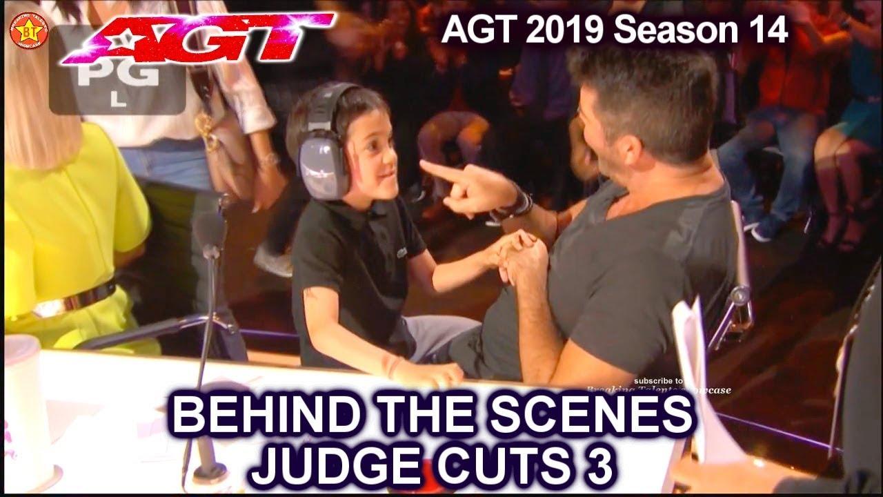 Simon son  Eric Cowell as Co Judge  | America's Got Talent 2019 Judge Cuts