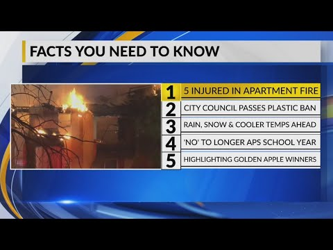 April 16th Morning Rush: Several families displaced after apartment fire in NE Albuquerque
