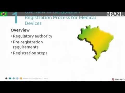 Brazil Medical Device Registration Process Chapter 1 - Overview