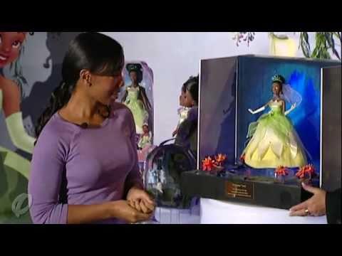 Anika Noni Rose And Her Princess Tiana Doll
