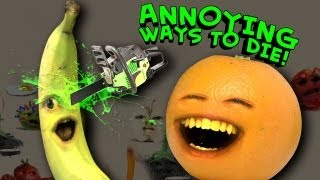 Repeat youtube video Annoying Orange - Annoying Ways to Die