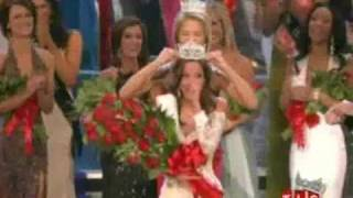 Miss America 2009 - Crowning Moment