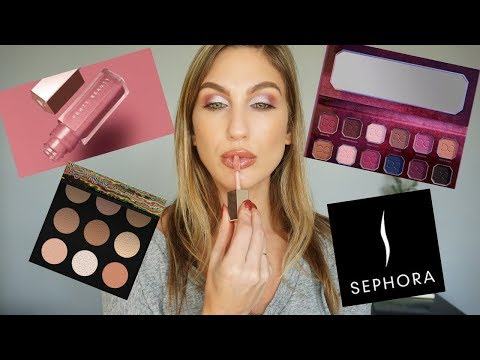SEPHORA HAUL TRY ON STYLE │ DOMINIQUE COSMETICS, FENTY + SMASHBOX thumbnail