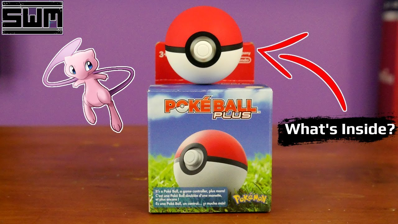 Here's What's Actually Inside The Poke Ball Plus
