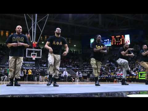 Alpha Phi Alpha step team