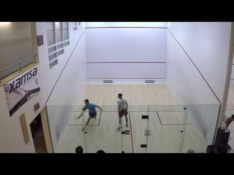 Squash Super8 match, Feb 10, 2017: Jason De Lierre vs David Philips