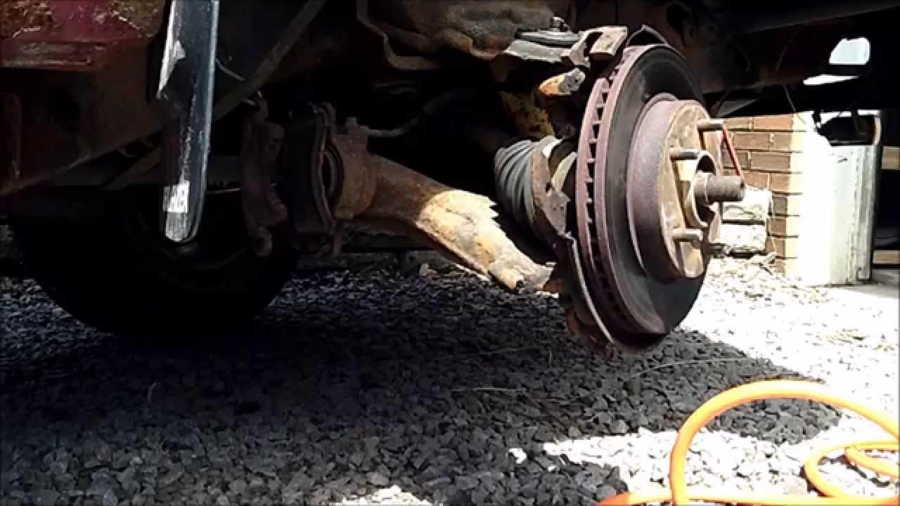 1997 Blazer Passenger front CV Axle & inner seal replacement - YouTube