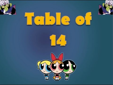 Learn Table of 14 | Table of 14 | Maths Tables