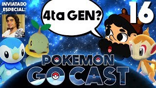 SE HUELE LLEGAR LA 4ta GENERACIÓN!! con SWAGGRON333 | POKEMON GO CAST EP 16 | 8BitCR