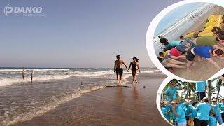 Danko travel _ Trung cấp Cộng Đồng Hà Nội Biển Hải Tiến