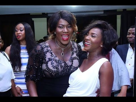Stephanie Okereke And Genevieve Nnaji Share Hearty Moments Together At Movie Premiere