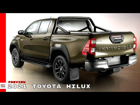 2021 Toyota Hilux Preview Youtube