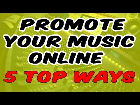 5 MUST DO Tips to promote your music online for free