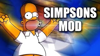 Mod SIMPSONS For MTG