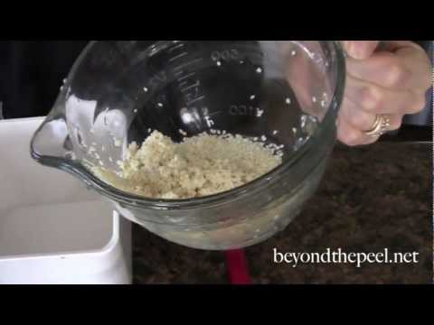 How To Make Sesame Seed Milk (Or Any Nut Or Seed Milk)