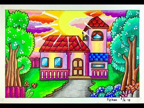 58 Gambar Rumah Sederhana Dan Pemandangan Terbaik