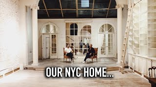 We bought a new home!  Our new New York City Apartment.