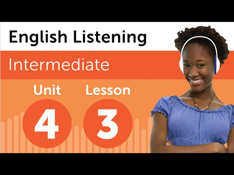 English Listening Comprehension - Talking About School Subjects in English