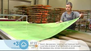 Сюжет из программы «Доброе утро» на Первом канале: Как выбрать кухонные фасады.