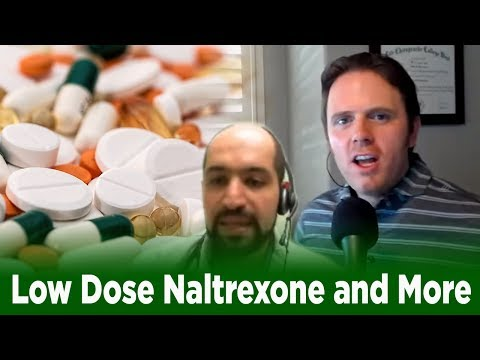 Dr. J Live Podcast - Low dose naltrexone and more