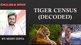 (Environment) #2 Tiger Census of India - Decoded - UPSC CSE
