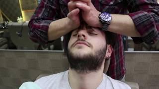 ASMR Turkish Barber Face and Head Massage 28