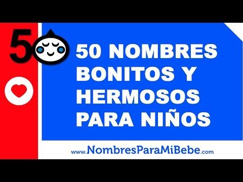 50 nombres bonitos y hermosos para niños - www.nombresparamibebe.com