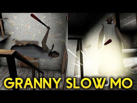 видео: GRANNY IN SLOW MOTION + SUPER SPEED! NEW NULLZEREP MOD! - Granny