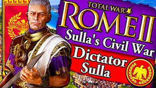 RISE OF SULLA!!! Rome 2 Total War: Sulla Roman Campaign Gameplay