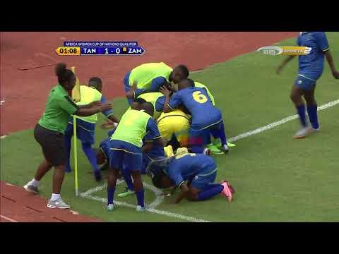 Bao la dakika ya kwanza Twiga Stars ikiifunga Zambia Taifa (Kufuzu AFCON)