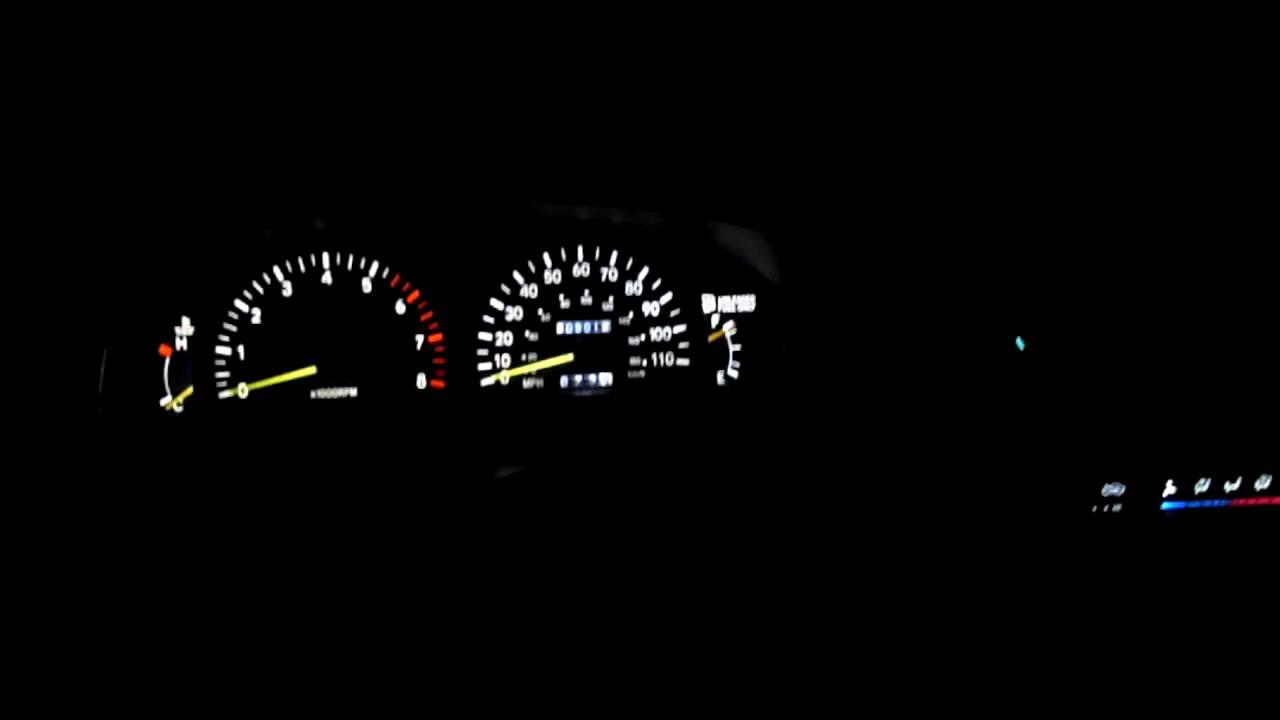 Led Dash 95 Tacoma