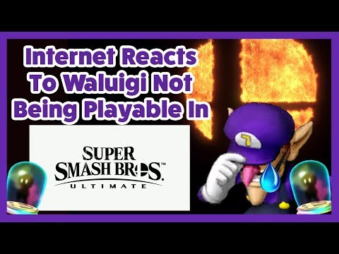 The Internet's Reaction To Waluigi Being An Assist Trophy In Super Smash Bros Ultimate