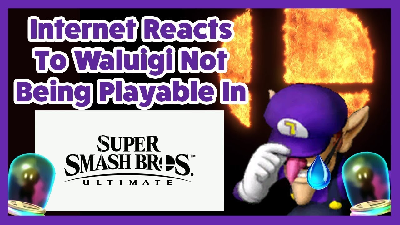 The Internet S Reaction To Waluigi Being An Assist Trophy In Super