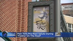 Man Who Shouted 'Heil Hitler' Says The Musical Reminded Him Donald Trump