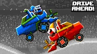 Мультики про машинки БЕЗУМНЫЕ ЛЕТНИЕ ОСТРОВА видео для детей битва тачек гонки Drive AHEAD