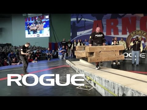 2018 Arnold Strongman Classic | Timber Carry - Full Live Stream Event 3